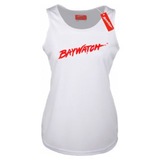 LADIES LICENSED BAYWATCH ® WHITE COOLTEX VEST